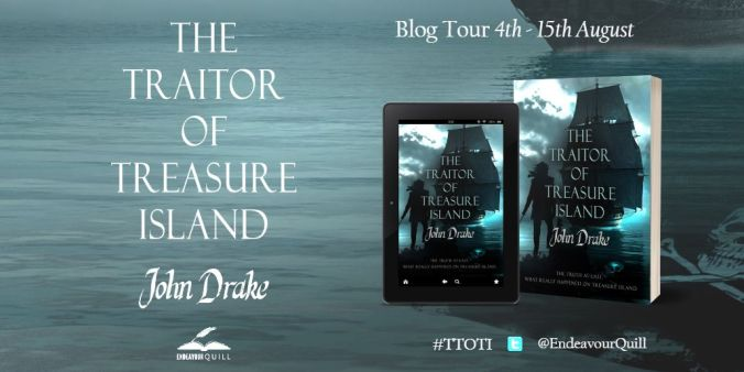 The Traitor of Treasure Island Blog Tour Promo Banner